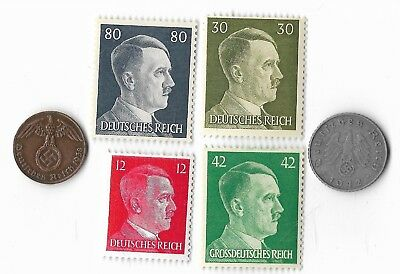 Vintage Rare Old German wwii ww2 Germany Coin Stamp Great Antique Collection Lot