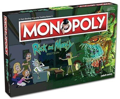 Monopoly - Rick and Morty collectors Edition-WIN002701