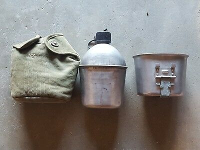 Very Nice Wwii Us Army U.s. G.p.&f.co 1943 Canteen Cup Cover 1945