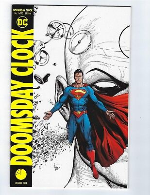 Doomsday Clock # 1 of 12 Variant Cover NM DC 4th Print