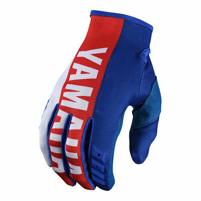 2018 Motocross Glove Troy Lee Designs TLD/Yamaha RS1 Blue GP Gloves - All Sizes