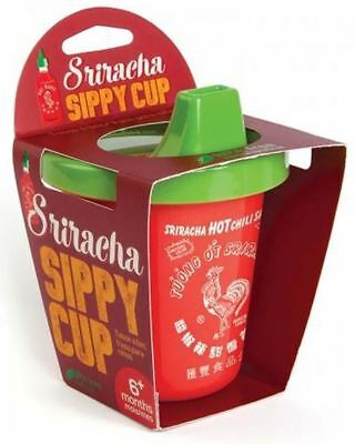 Sriracha Sippy Cup Toddler Baby Cute Novelty Fun Drink BPA Free Gift Hot Sauce