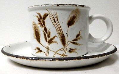 Midwinter Wild Oats Stonehenge Cups Saucers Wedgwood Group Made In England