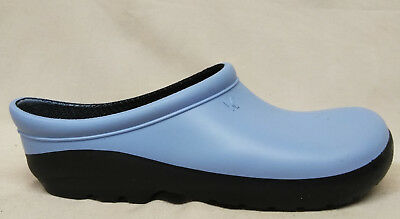 NEW Sloggers Premium Size 7 US Womens Geisha Blue Garden Outfitters Clogs Shoes