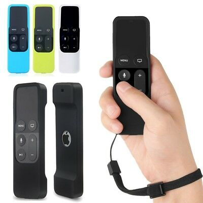 For Apple TV 4K / 4th Gen Siri Remote Controller Anti-Shock Silicone Cover Case