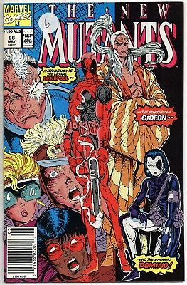 New Mutants #98 Vol 1 1991 First Appearence of Deadpool - Fine Minus