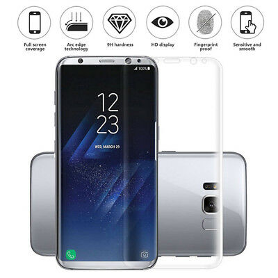 Full Screen Cover Hydrogel Protector Film For Samsung Galaxy S7/Edge/8Plus/Note