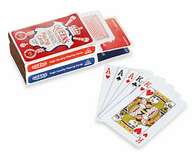 Brand New Queen's Slipper Playing Cards Casino slip High Quality AU Made