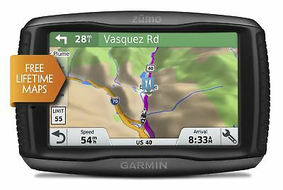 Garmin Zumo 595LM Full UK Europe Maps Motorcycle Sat Nav - 010-01603-10