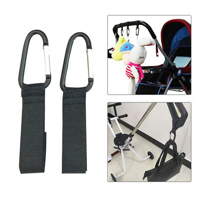 Universal Mummy Buggy Clip Pram Pushchair Stroller Hook Shopping Bags Holder WU6