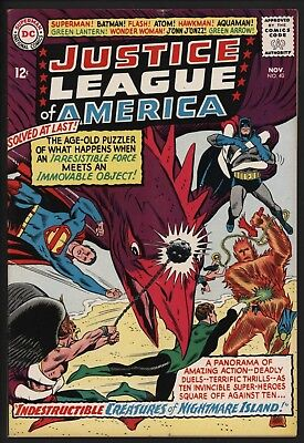 Justice League Of America #40  Very Glossy Cents Copy Off White Pages Nov 1963