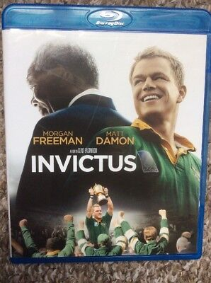 Invictus Bluray Dvd Disc - Region Free