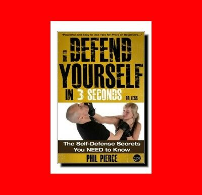 Self Defense Martial Arts Book:how To Defend Yourself In 3 Seconds%secrets Found