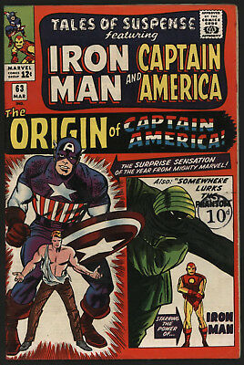 Tales Of Suspense 63. Very Tight Copy, Off White/ White Pages.