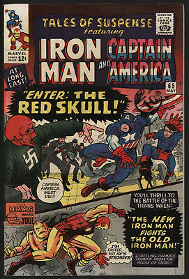 Tales Of Suspense #65 May 1965. Very Tight Structure, Lovely White Pages