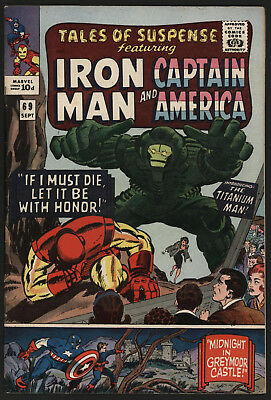 Tales Of Suspense #69 Sep 1965. Very Tight Structure, Off White/white Pages
