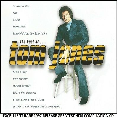 Tom Jones - The Very Best Essential Greatest Hits Collection 1964 -1989 RARE CD