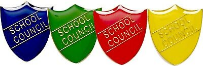 Image result for school council badge yellow and red