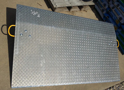 """Dock Plate with Handles 60"""" Wide x 36"""" Long. 4100lbs Capacity. Vestil E-6036."""