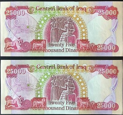 Fifty Thousand Dinar (Iqd) - Official Iraq Currency - Authentic - Fast Delivery