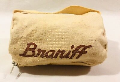 """Vintage Braniff Airways Bag - Small (approximately 3"""" x 6"""")"""