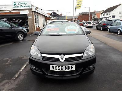 2008 VAUXHALL ASTRA Twin Top 1.8 VVT Sport From £3,495 + Retail Package