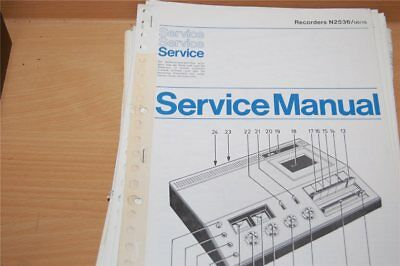 Service Manual Philips  Recorders N2536