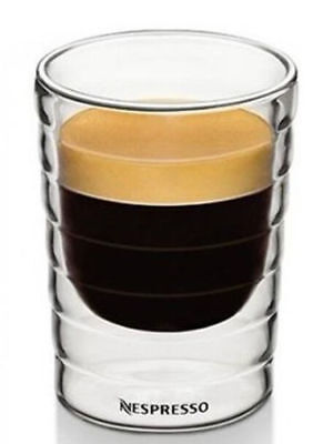 espresso Glass 85ml Coffee Cup 4/2/6pcs Nespresso Double Wall Thermal Cup