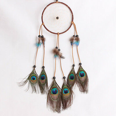 Dream Catcher With Feathers Pendant Room Window Decoration DIY Ornament Gift