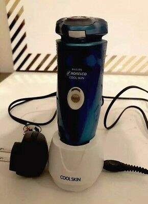 Norelco Cool Skin Electric Rechargeable Shaver 7737X with trimmer
