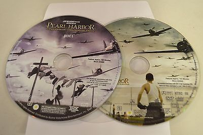Pearl Harbor (DVD, 2001, 2-Disc Set, Widescreen Discs Only Free Shipping 69-269