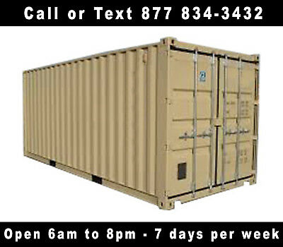 New 20' Shipping Container Cargo Container Storage Container in Denver, CO