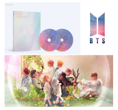 BANGTAN BOYS LOVE YOURSELF Answer [S Ver.] BTS Album 2CD+Booklet+Sticker Pack