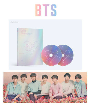 BANGTAN BOYS [E Ver.] LOVE YOURSELF Answer BTS Album 2CD+Photocard+Sticker K-POP