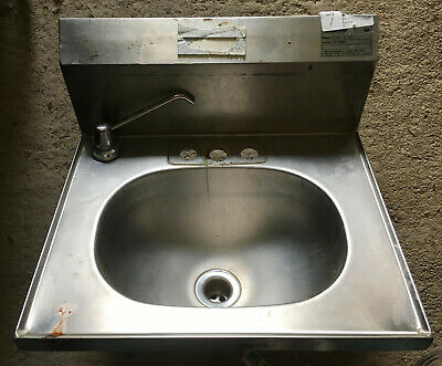 Eagle Stainless Steel Wall Mount Hand Sink 19 X 17 YHSAD 10 0037