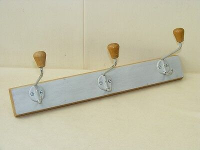 Antique Hook bar Wood Cult Retro 50er Wardrobe Wooden Trim Hook