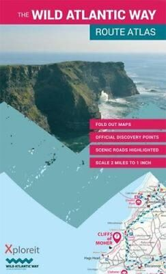 The Wild Atlantic Way Route Atlas: Ireland's Journey West 2015 9780955265563