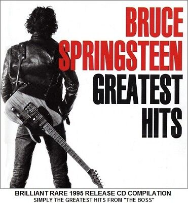 Bruce Springsteen Very Best Essential Greatest Hits Collection RARE CD Rock Pop