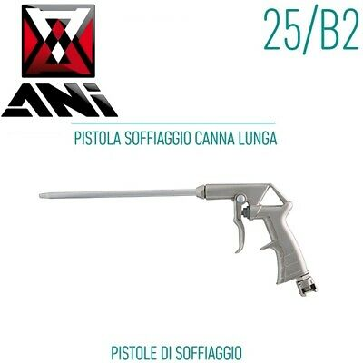 PISTOLA SOFFIATRICE ARIA A CANNA LUNGA BLOW GUN WITH LONG NOZZLE