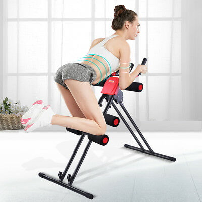 Abdominal Trainer Core Workout Machine Fitness Station Exerciser Home Gym OT016