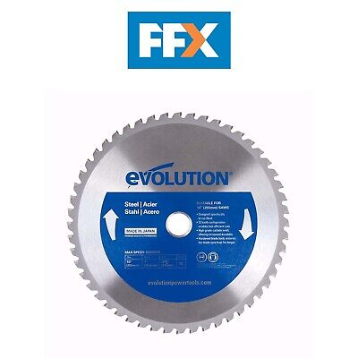 Evolution EVOBLADE255 255mm x 25.4mm TCT Steel Cutting Saw Blade