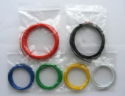 18m 1/0.6mm Equipment Wire Kit  - 22-23 AWG  - Single Solid Core 1.8A  WP-011317
