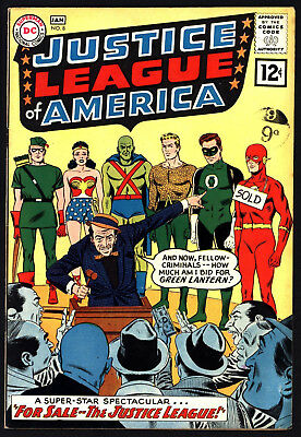 Justice League Of America #8 From 1962 Nice Original Owner Copy