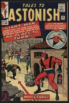 Tales To Astonish 54.  Very Glossy Cents Vf Plus. Great Page Quality.