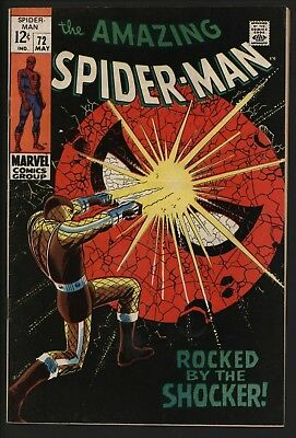 Amazing Spider-Man 72. Vfn. Cents Copy.