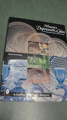 Mauzy's Depression Glass  Photographic Reference Book  Barbara & Jim Mauzy