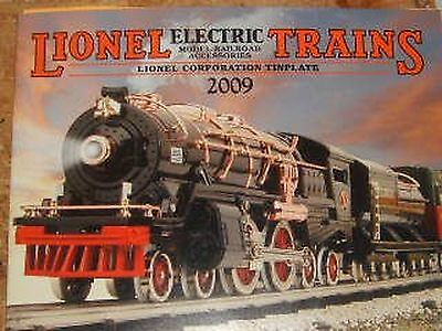 Lionel Trains Electric Model Railroad and Accessories Tinplate 2009 Catalog