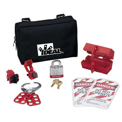 Ideal 44-973 Starter Lockout/Tagout Kit