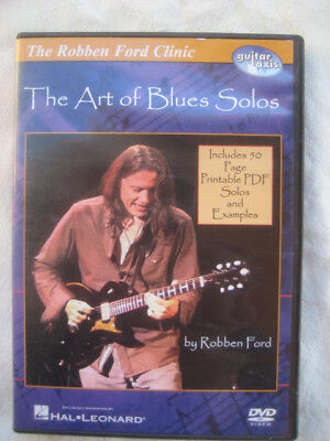 Robben Ford Clinic The Art of Blues Solos Guitar DVD Soloing Techniques Phrasing