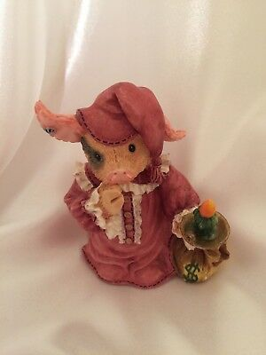 Enesco This Little Piggy 1995 Boar Humbug! Christmas Holiday Scrooge Pig 145823